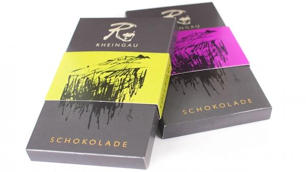 Schokolade, Spätburgunder Zartbitter Schokolade mit Spätburgunder Weinbrand (VSOP)