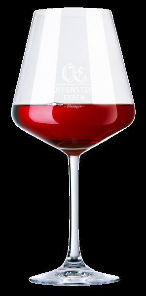 """Rotweinglas """"Offenstein Erben"""""""