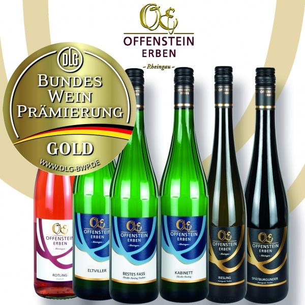 GOLDSTÜCKE Weinpaket (6 x 0,75 l)
