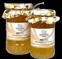 IngVino  Weißwein-Gelee  mit Ingwer