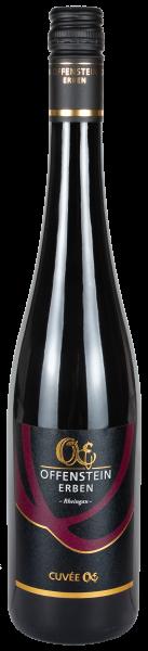 Rotwein Cuvée OE trocken, Spätburgunder und Dakapo