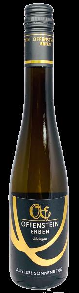 Qualitätswein mit Prädikat AUSLESE Eltviller Sonnenberg OE Familie Schumacher