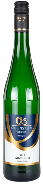 Kiedricher Sandgrub Weißwein Spätlese süß OE