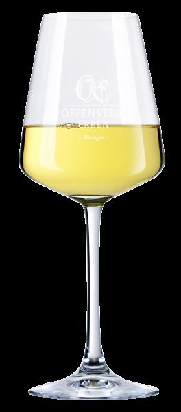 """Weißweinglas """"Offenstein Erben"""""""